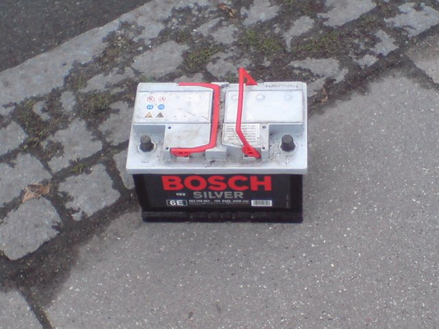 Bosch Silver Akkumulator
