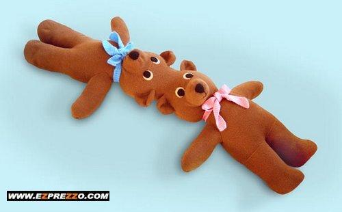Siamesiske bamser