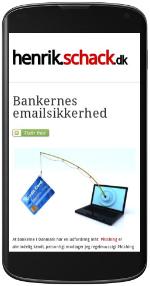 henrik.schack.dk på smartphone